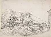 Cottages in a Rocky Landscape