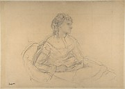 Study for Mme Théodore Gobillard (née Yves Morisot)