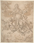 Virgin in Glory with Angels