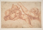 Study of Figures from Michelangelo&#39;s Last Judgment, Sistine Chapel