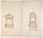 Two Designs for Memorial Tablets
