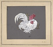 Design of a rooster from the Workshop of Froment-Meurice
