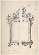 Two Alternative Designs for a Mirror or Screen with Family Coat of Arms