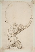 Crouching Figure of Atlas