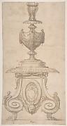 Design for an Altar Candlestick