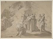 Saint Philip Benizi Converting Two Wicked Women at the City of Todi