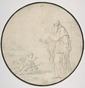 St. Augustine and the Child on the Seashore