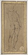 Male Figure Seen from Rear, After a Drawing by Michelangelo