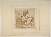 Venus Leaving the Bath, and Cupid