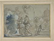 Aeneas and the Cumaean Sibyl Entering the Infernal Regions