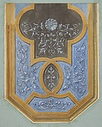 Design for the decoration of a ceiling with rinceaux