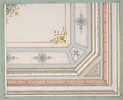 Partial design for a painted ceiling