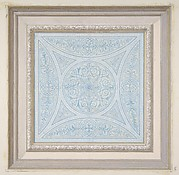 Design for a ceiling paianted in filagree patterns