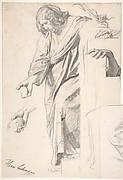 Standing Draped Female Figure