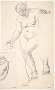 Standing Nude Female Figure