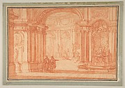 Study for the Rotunda of a Palace