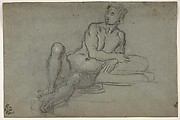 Reclining Female Nude Figure
