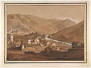 Town in an Alpine Valley