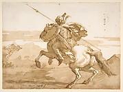 An Oriental Horseman.