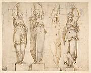 Four Canephori