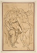 Two Standing Male Figures