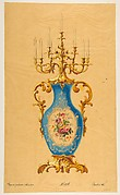 Design for a Porcelain Candelabra