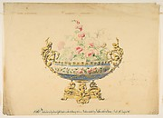 Design for a Jardiniere