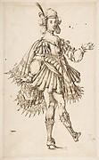 Male Figure in Ballet Costume