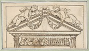 Study of a Pediment