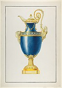Design for a Gilt Bronze Ewer