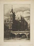 The Clock Tower, Paris (La Tour de l'Horloge)