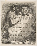 Title Page, from Monkey-ana, or Men in Miniature