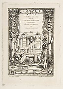 Frontispiece for the Catalogue of the work of Thomas De Leu