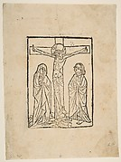 Christ on the Cross, with the Virgin and Saint John