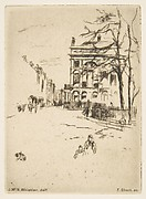 Fitzroy Square (Street Scene)