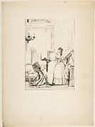 Le Cocu battu et content, from Contes et nouvelles en vers par Jean de La Fontaine.  A Paris, de l'imprimerie de  P. Didot, l'an III de la République, 1795