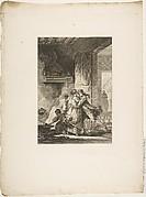 On ne s'avise jamais du tout, from Contes et nouvelles en vers par Jean de La Fontaine.  A Paris, de l'imprimerie de  P. Didot, l'an III de la République, 1795