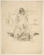 The Draped Figure, Seated (from L'Estampe originale, Album IV)