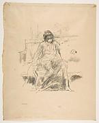 The Draped Figure – Seated (from L'Estampe originale, Album IV)