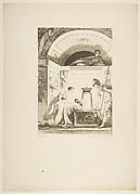 La Matrone d'Ephese, from Contes et nouvelles en vers par Jean de La Fontaine.  A Paris, de l'imprimerie de  P. Didot, l'an III de la République, 1795