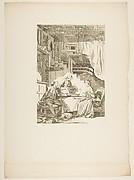 Le Faucon, from Contes et nouvelles en vers par Jean de La Fontaine.  A Paris, de l'imprimerie de  P. Didot, l'an III de la République, 1795