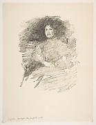 Firelight (Mrs. Joseph Pennell)