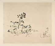 Decoration for a Plate: A Field