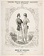United States Military Academy. Song of the Graduates. 1852