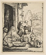 Abraham Entertaining the Angels