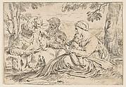 Holy Family with Saint Elizabeth and John the Baptist