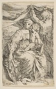 Holy Family with the Curtain