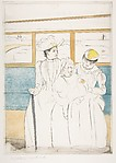 In the Omnibus, after Mary Cassatt
