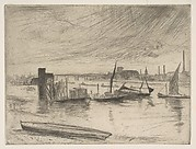 Early Morning, Battersea (Battersea Dawn) (Cadogan Pier)