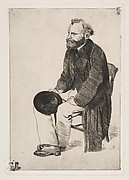 Manet Seated, Turned to the Left